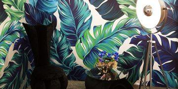 Модный обзор интерьерных выставок. Листья тропических растений — тренд №1